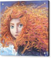 Merida From Pixar's Brave Acrylic Print