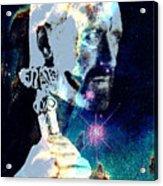 Merlin In The Cosmos Acrylic Print