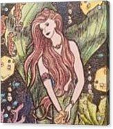 Mermaid Magic Acrylic Print