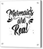 Mermaid Art Acrylic Print