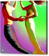 Mermaid Dance Acrylic Print