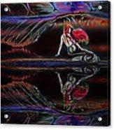 Mermaid Daydream  Acrylic Print
