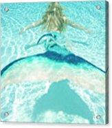 Mermaid Escape 2 Acrylic Print