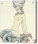 Mermaid, From Les Liaisons Dangereuses  Acrylic Print