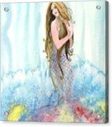 Mermaid In The Mist Acrylic Print