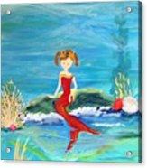 Mermaid Jenna Acrylic Print