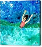 Mermaid Metamorphosis Acrylic Print