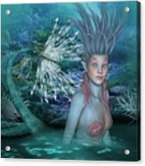 Mermaid Of The Deep Sea 2 Acrylic Print