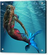 Mermaid Of The Ocean Acrylic Print