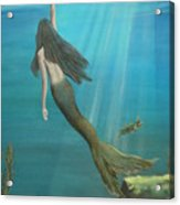 Mermaid Of Weeki Wachee Acrylic Print
