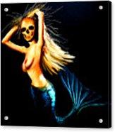 Mermaid Witch Acrylic Print