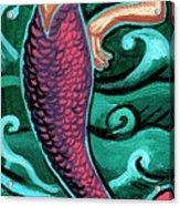 Mermaid With Pearl Acrylic Print
