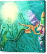 Mermaid's Garden Acrylic Print
