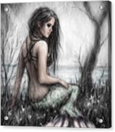 Mermaid's Rest Acrylic Print
