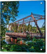 Merriam Street Bridge Acrylic Print