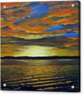 Merritt Island Sunset Acrylic Print