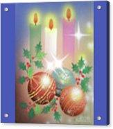 Merry Christmas 1 Acrylic Print