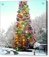 Merry Christmas 2015 Acrylic Print