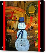 Merry Christmas Everybody Acrylic Print