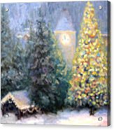Merry Christmas From Vail Acrylic Print