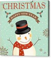 Merry Christmas-jp2766 Acrylic Print