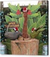 Merry Christmas - Wild Adventures Acrylic Print