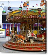 Merry-go-round At The Prater Acrylic Print