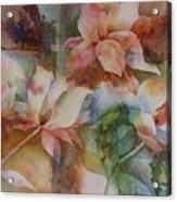 Merry Magnolias Acrylic Print