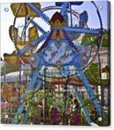 Merry Wheel Acrylic Print