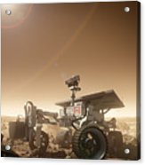 Mers Rover Acrylic Print