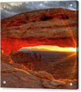Mesa Arch 6 Acrylic Print