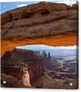 Mesa Arch Morning Glow Acrylic Print