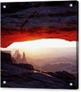 Mesa Arch Sunrise 4 Acrylic Print
