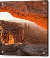 Mesa Arch Sunrise 5 - Canyonlands National Park - Moab Utah Acrylic Print