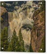 Mesa Falls In Summer Acrylic Print