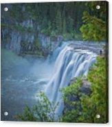 Mesa Falls - Yellowstone Acrylic Print