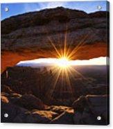 Mesa Sunrise Acrylic Print