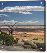Mesa View In Utah Acrylic Print