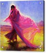 Mesa Walk Acrylic Print