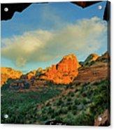 Mescal Mountain 04-012 Acrylic Print