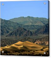 Mesquite Flat Sand Dunes - Death Valley National Park Ca Usa Acrylic Print