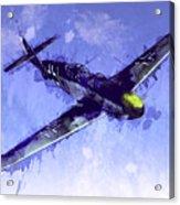 Messerschmitt Bf 109 Acrylic Print