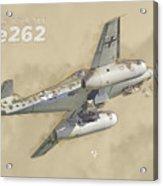Messerschmitt Me-262 Acrylic Print