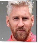 Messi 2016 Acrylic Print