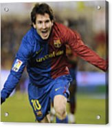 Messi 1 Acrylic Print
