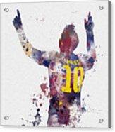 Messi Acrylic Print