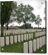 Messines Ridge British Cemetery Acrylic Print