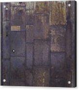 Metal Door Acrylic Print