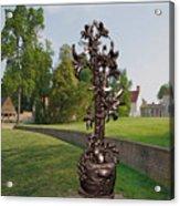 Metal Flowers 11mf Acrylic Print