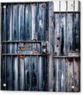 Metal Gates Acrylic Print